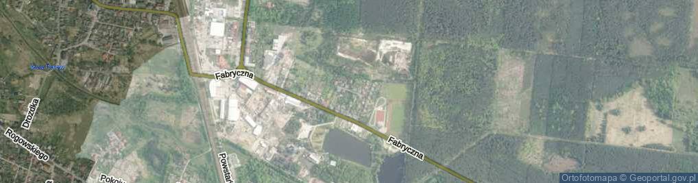 Zdjęcie satelitarne Pstrowskiego