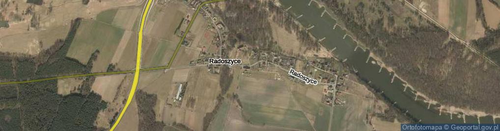 Zdjęcie satelitarne Radoszyce ul.