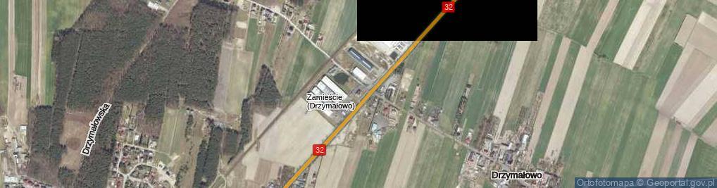 Zdjęcie satelitarne Rakoniewice ul.