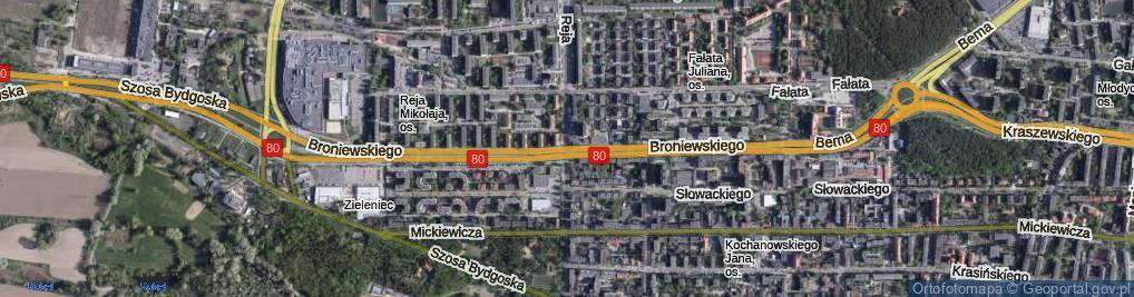 Zdjęcie satelitarne Reja Mikołaja