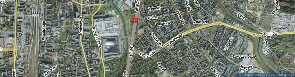 Zdjęcie satelitarne Roentgena