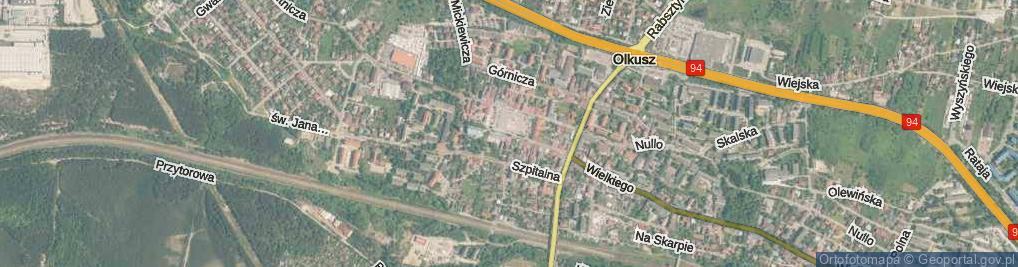 Zdjęcie satelitarne Rynek