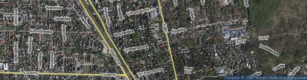 Zdjęcie satelitarne Rzeźbiarska