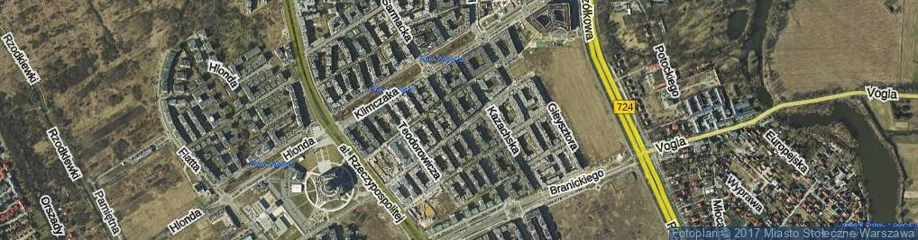 Zdjęcie satelitarne Sarmacka ul.