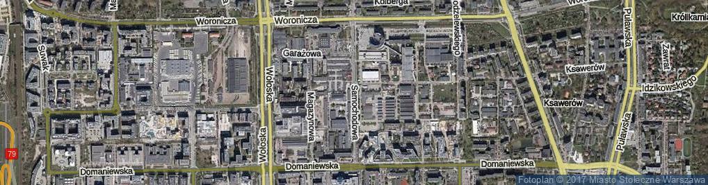 Zdjęcie satelitarne Samochodowa