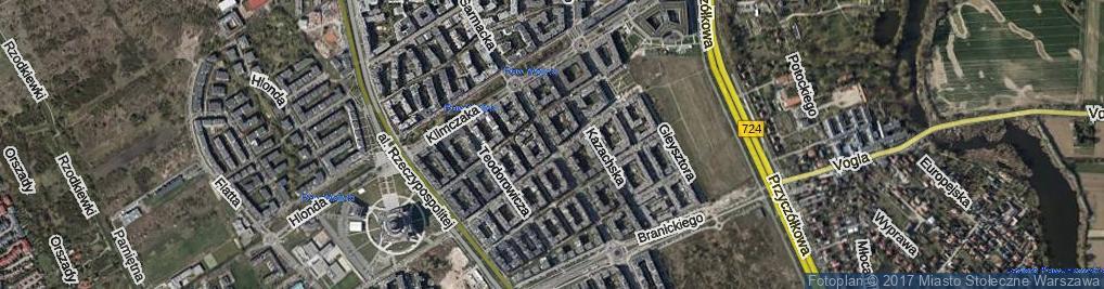 Zdjęcie satelitarne Sarmacka