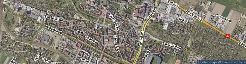 Zdjęcie satelitarne Sienkiewicza