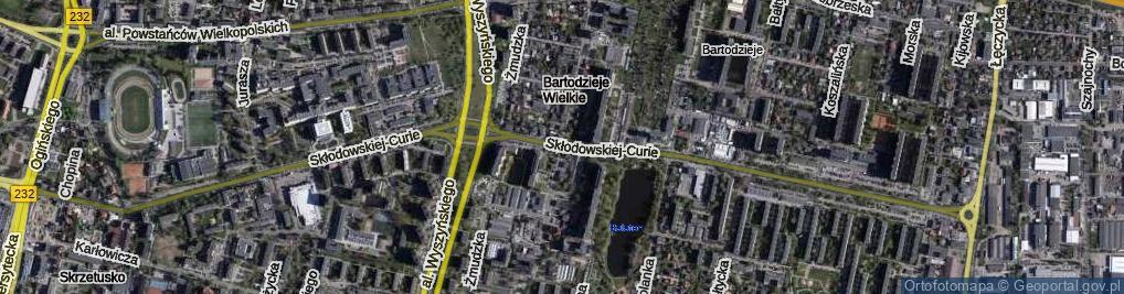 Zdjęcie satelitarne Skłodowskiej-Curie Marii