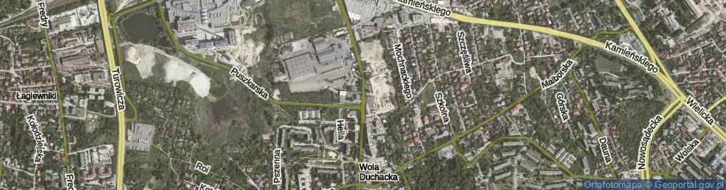 Zdjęcie satelitarne Sławka Walerego