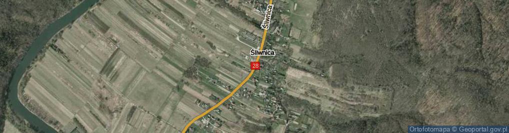 Zdjęcie satelitarne Śliwnica