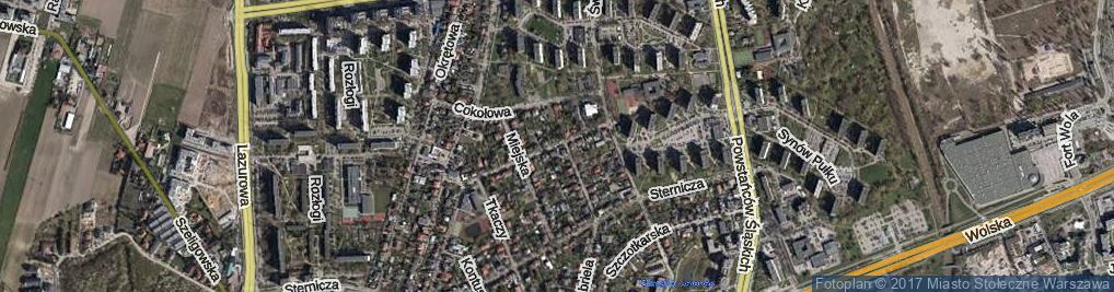 Zdjęcie satelitarne Słomiana ul.