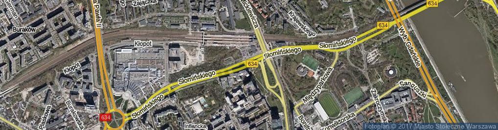 Zdjęcie satelitarne Słomińskiego Zygmunta ul.