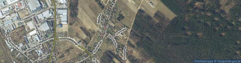 Zdjęcie satelitarne Sosnowa