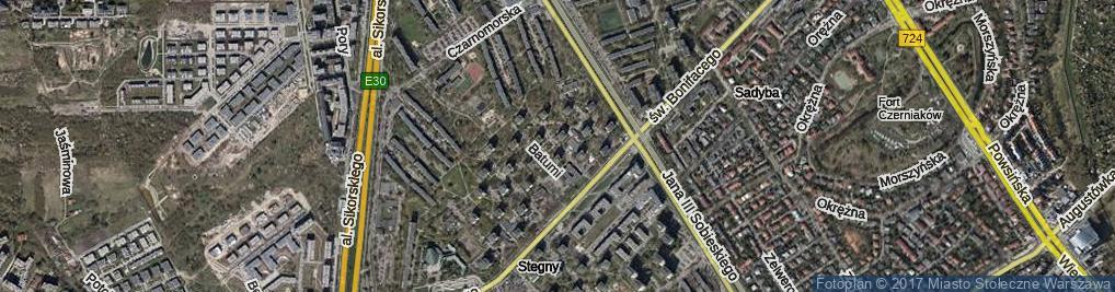 Zdjęcie satelitarne Soczi ul.