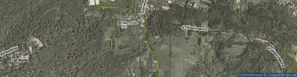 Zdjęcie satelitarne Starowolska