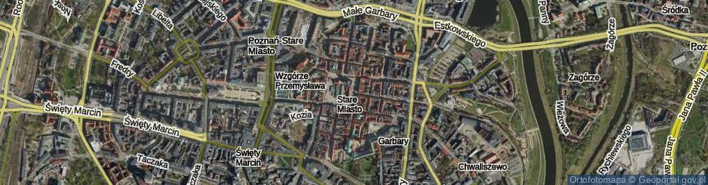 Zdjęcie satelitarne Stary Rynek