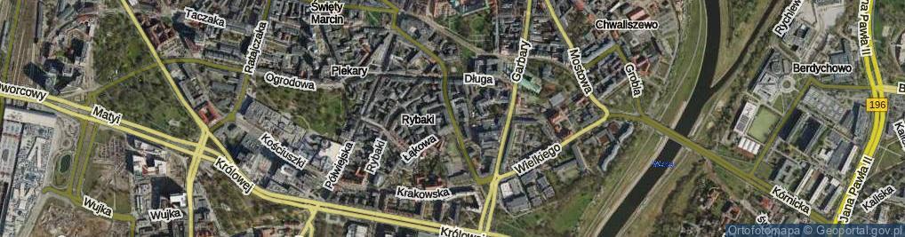Zdjęcie satelitarne Strzelecka