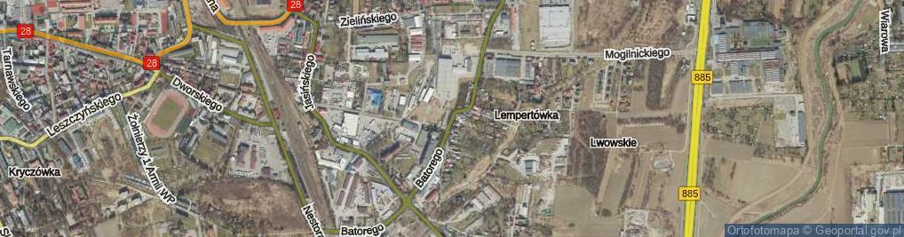 Zdjęcie satelitarne Stefana Batorego