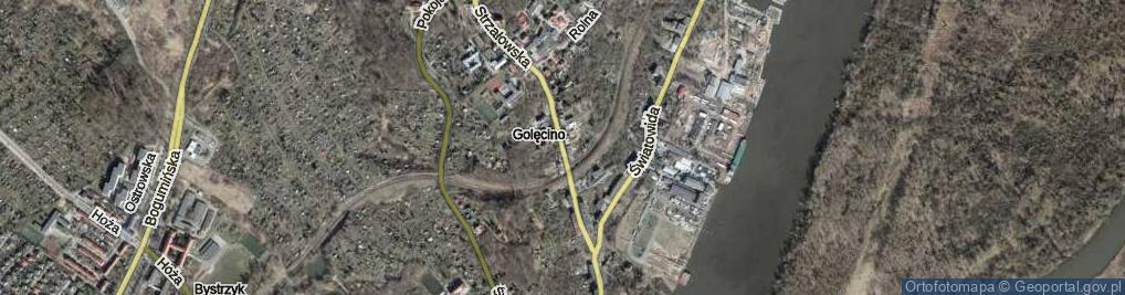 Zdjęcie satelitarne Strzałowska