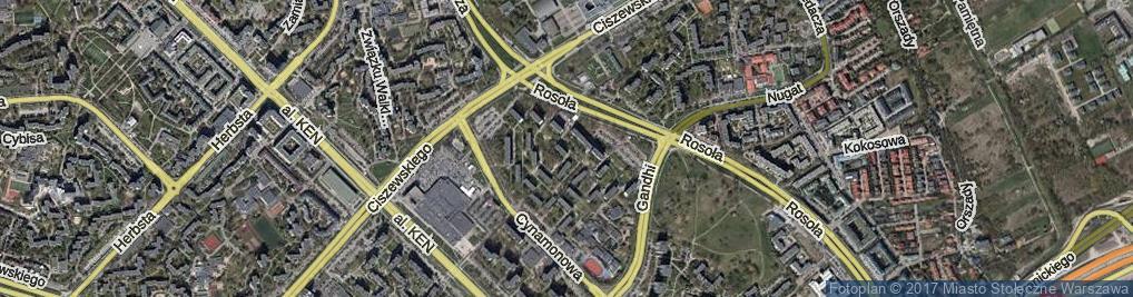 Zdjęcie satelitarne Strzeleckiego Pawła Edmunda