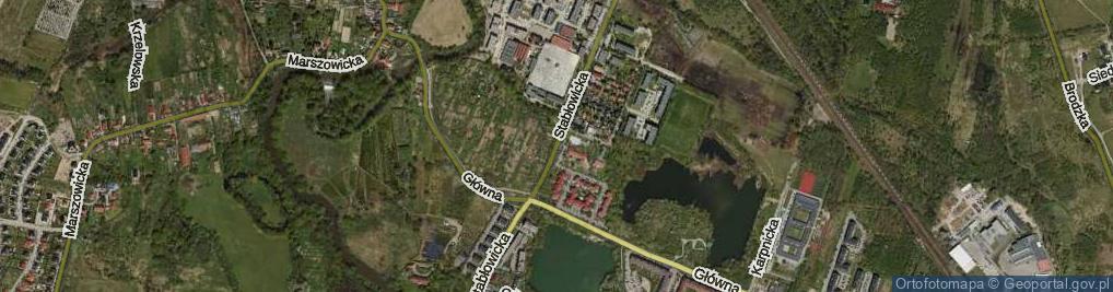 Zdjęcie satelitarne Stabłowicka