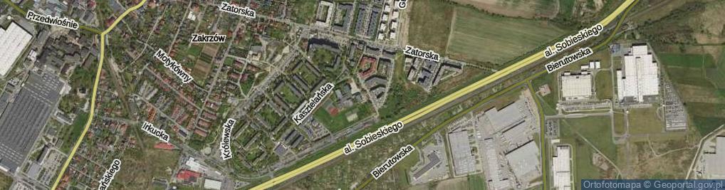 Zdjęcie satelitarne Staropolska