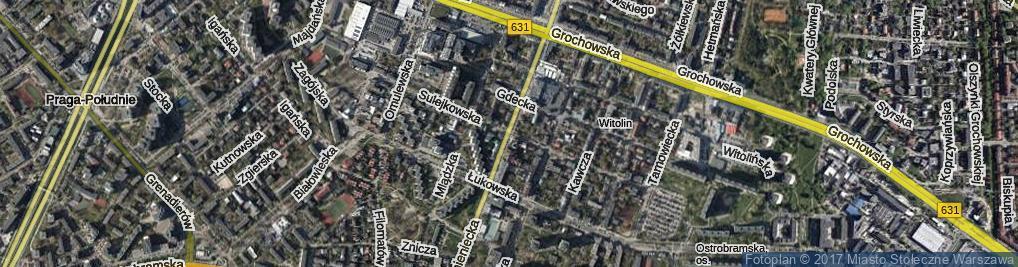Zdjęcie satelitarne Sulejkowska