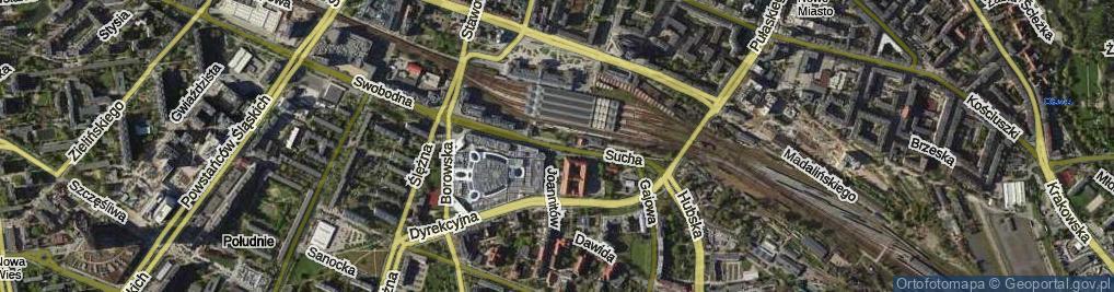 Zdjęcie satelitarne Sucha