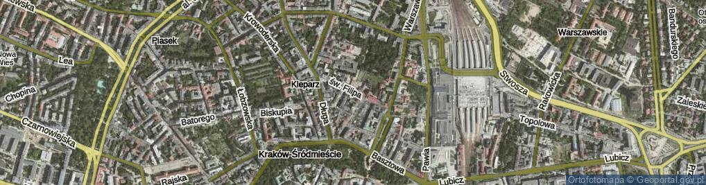 Zdjęcie satelitarne św. Filipa
