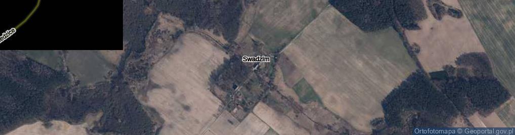 Zdjęcie satelitarne Swadzim