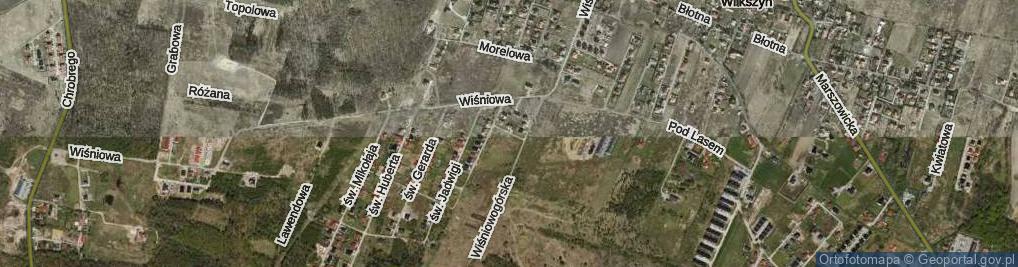 Zdjęcie satelitarne św. Piotra