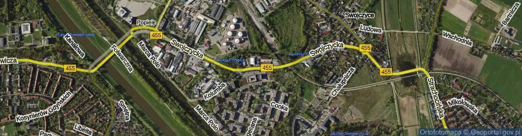 Zdjęcie satelitarne Swojczycka