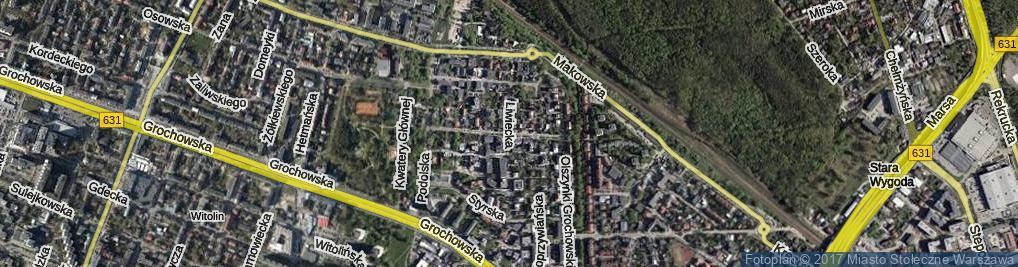Zdjęcie satelitarne Sztabowa