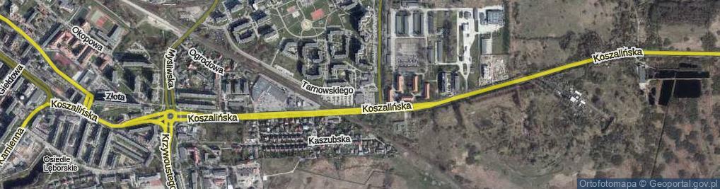 Zdjęcie satelitarne Tarnowskiego Jana ul.