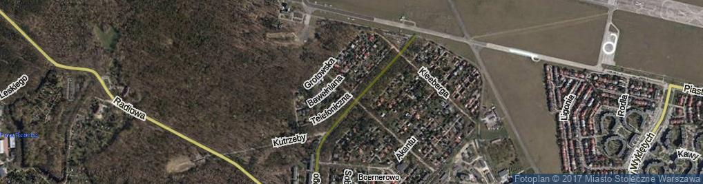 Zdjęcie satelitarne Telefoniczna