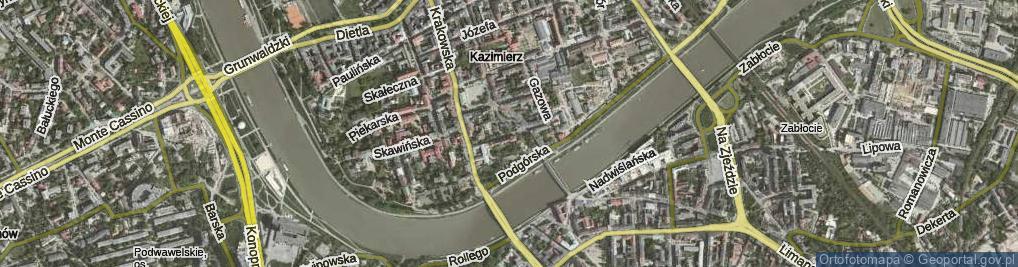 Zdjęcie satelitarne Trynitarska
