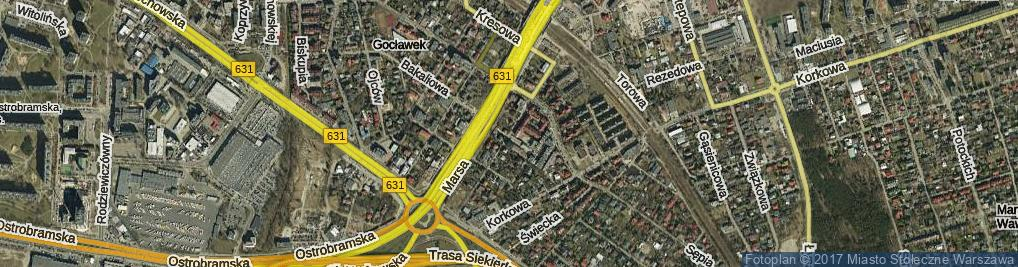 Zdjęcie satelitarne Tytoniowa