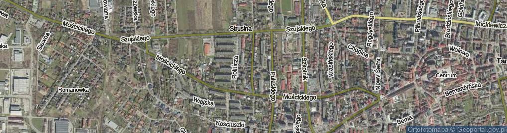 Zdjęcie satelitarne Ułańska