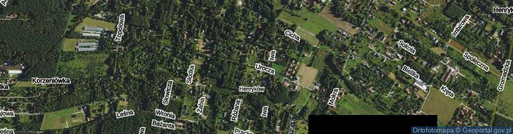 Zdjęcie satelitarne Urocza