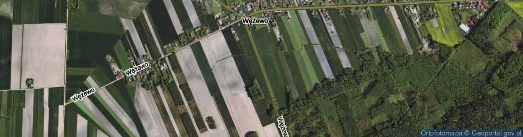 Zdjęcie satelitarne Wężewo ul.