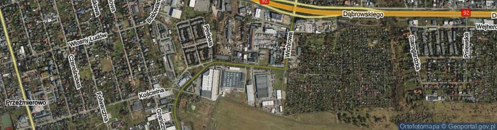 Zdjęcie satelitarne Wichrowa