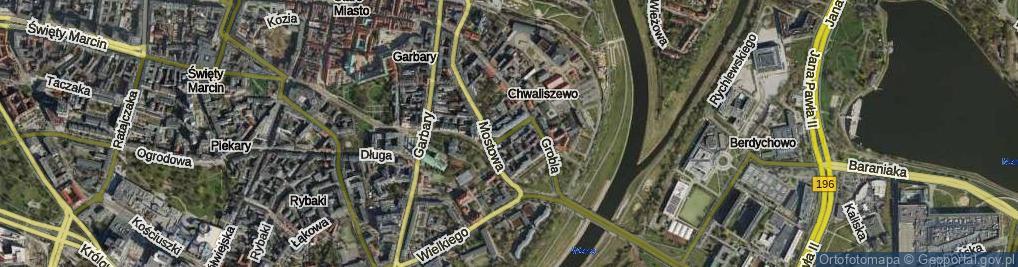 Zdjęcie satelitarne Wierzbowa