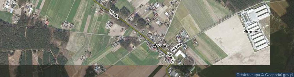 Zdjęcie satelitarne Wioska