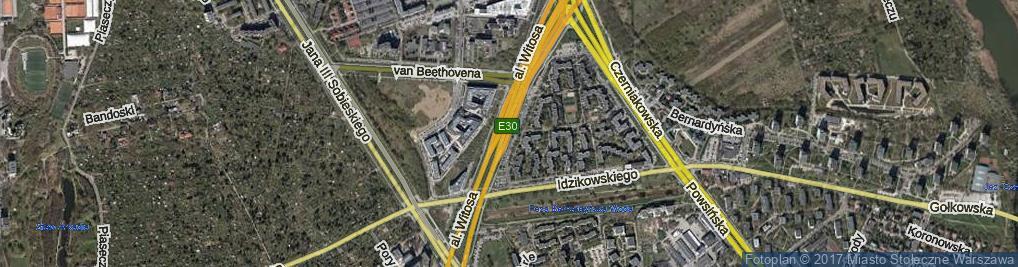 Zdjęcie satelitarne Witosa Wincentego, al.