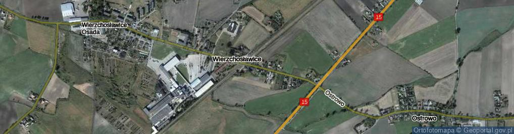 Zdjęcie satelitarne Wierzchosławice ul.