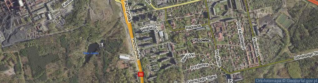 Zdjęcie satelitarne Wojciecha