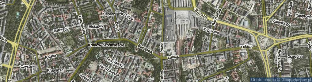 Zdjęcie satelitarne Worcella Stanisława