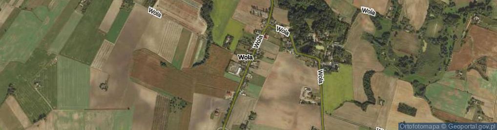 Zdjęcie satelitarne Wola ul.