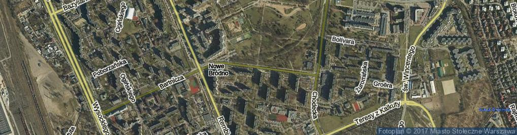 Zdjęcie satelitarne Wyszogrodzka ul.