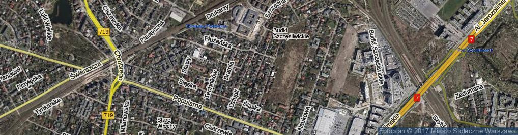 Zdjęcie satelitarne Wyrzyska